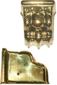 """Clawfoot Leg Cap 1-7/8"""" - Brass"""