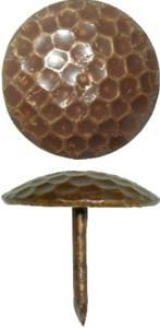 """Decorative Nail 13/16"""" x 5/8"""" - Dimpled"""