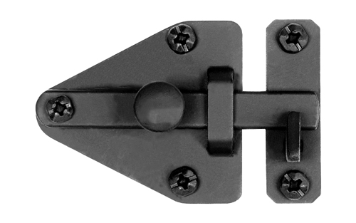Smooth Iron Arrowhead Cabinet Latch