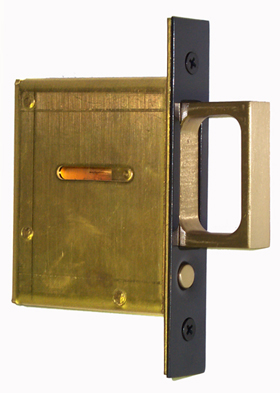 Iron Mortise Pocket Door Pull