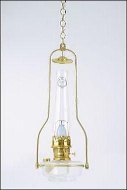 Tilt Frame Hanging Oil Lamp