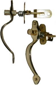 Music Cabinet Latch - Brass