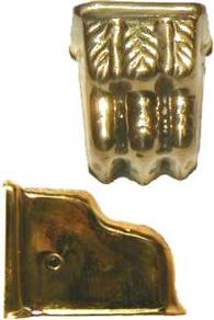 """Clawfoot Leg Cap 1-1/4"""" - Brass"""