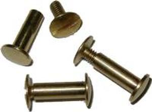 "Screw Post 5/8"" - Brass"