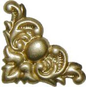 """Decorative Corner 3/4"""" - Brass"""