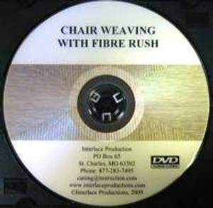Chair Weaving with Fiber Rush DVD