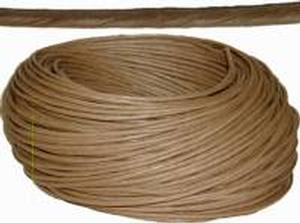 Kraft Brown Art Fiber Rush - 3/32""