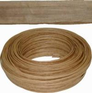 Kraft Brown Art Fiber Flat Seating - 1/2""