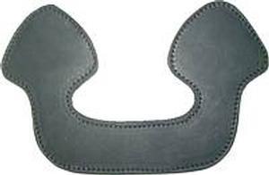 Leather U-Shaped Trunk Handle - Black