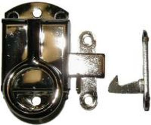 Left Hand Napanee Cabinet Latch - Nickel