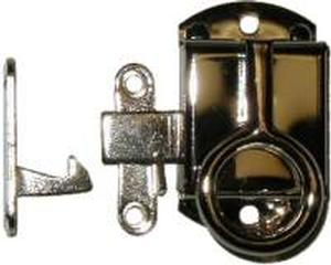 Right Hand Napanee Cabinet Latch - Nickel