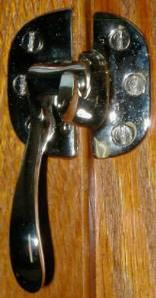 Left Hand Ice Box Latch - Nickel