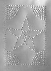 Pie Safe Tin - STAR