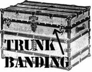 Black Trunk Banding - 10 Ft