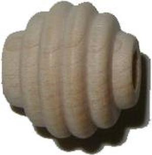 """Beehive Bead 5/8"""" - Hardwood"""