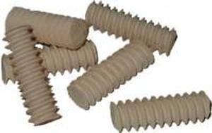 "Threaded Dowel Pins 1/2"" - Maple"